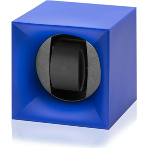 Swiss Kubik Startbox Blue watchwinder