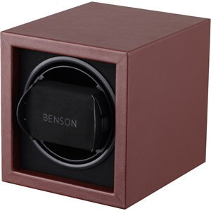 Benson Compact 1.17. Dark Brown Leather