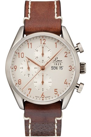 Laco Chronographen 861586 New York 44mm