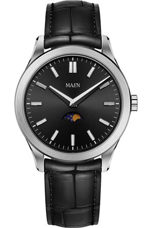 Maen Manhattan 40 Moon Jet Black Brushed