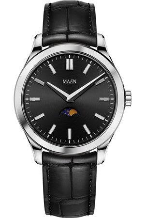 Maen Manhattan 40 Moon Jet Black Polished